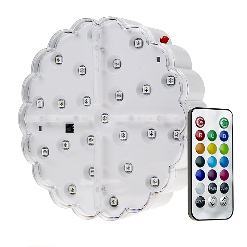 LED wedding lights - rechargeable centerpiece light