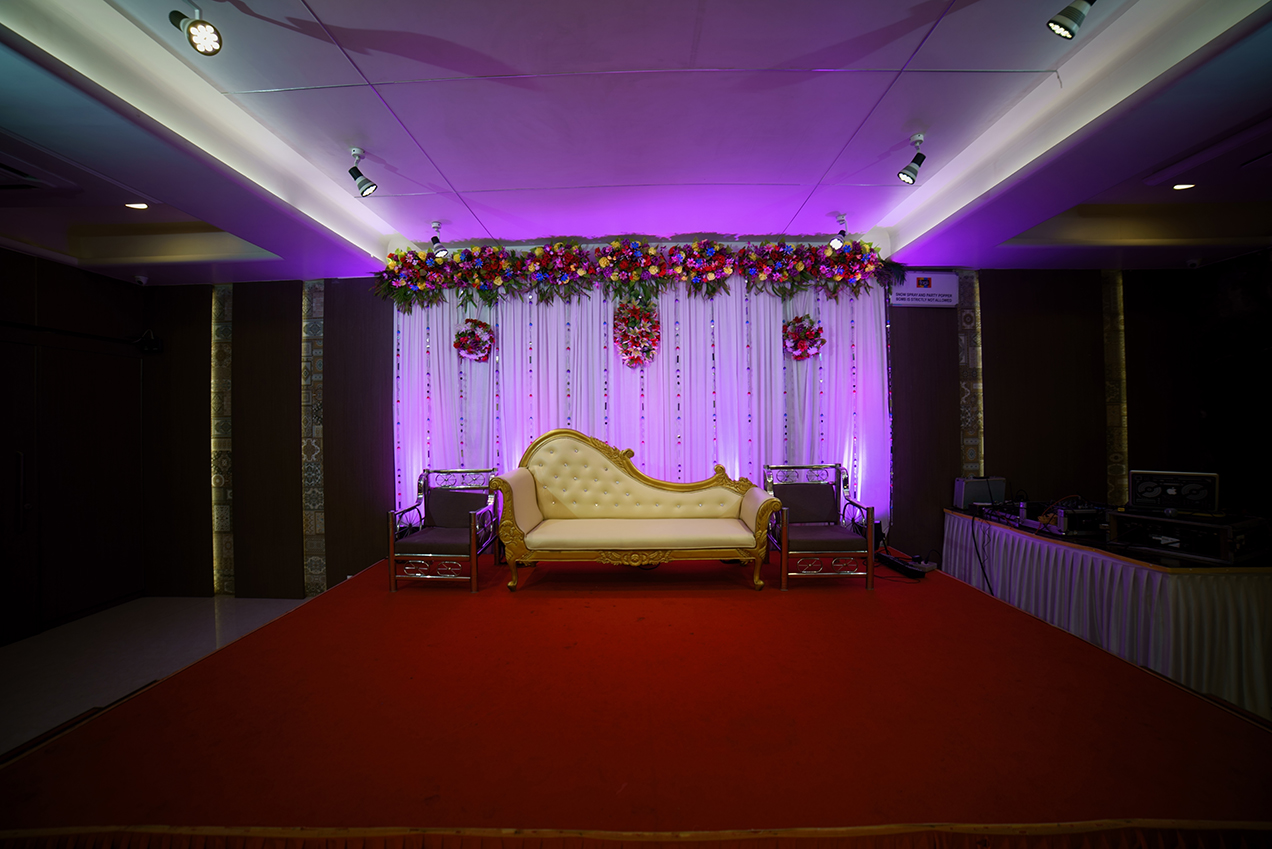 LED wedding lights - backdrop lights