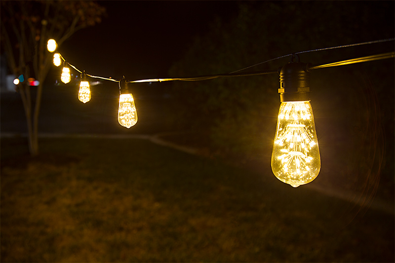 LED restaurant lighting - LED string lights