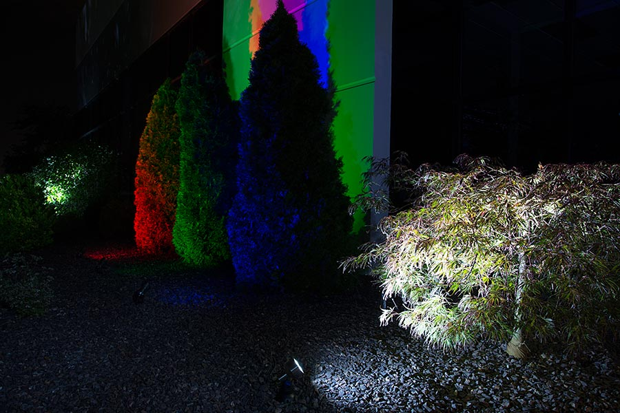 LED restaurant lighting - LED landscape lights