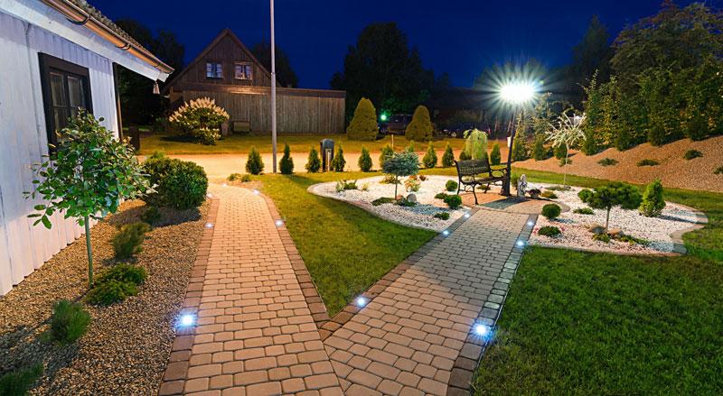 LED restaurant lighting - LED walkway lights