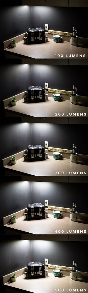 choosing LED strip lights - what is a lumen