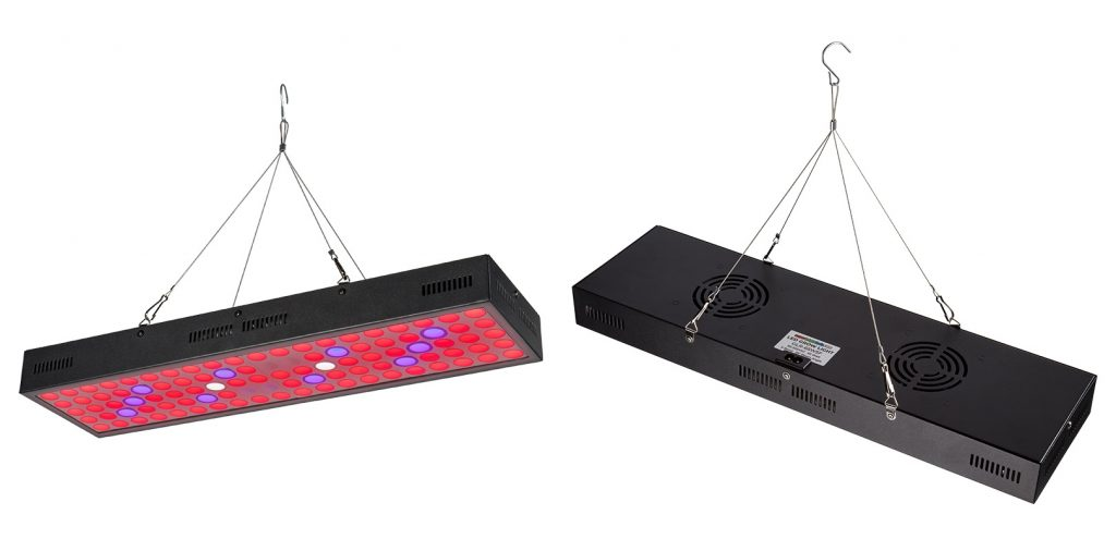 5-band full spectrum LED Grow Light - rectangular 65W