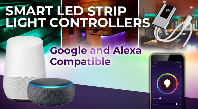 Alexa/Google Compatible Wi-Fi LED Controllers - Join the