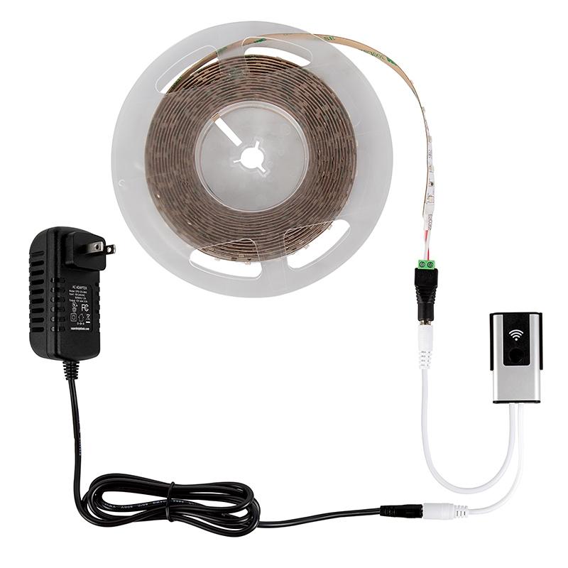 Alexa/Google Wifi LED Strip Light Controllers - single color