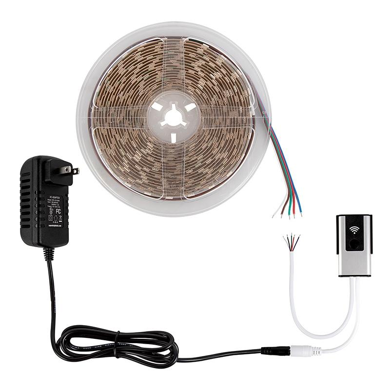 Alexa/Google Wifi LED Strip Light Controllers - rgbw