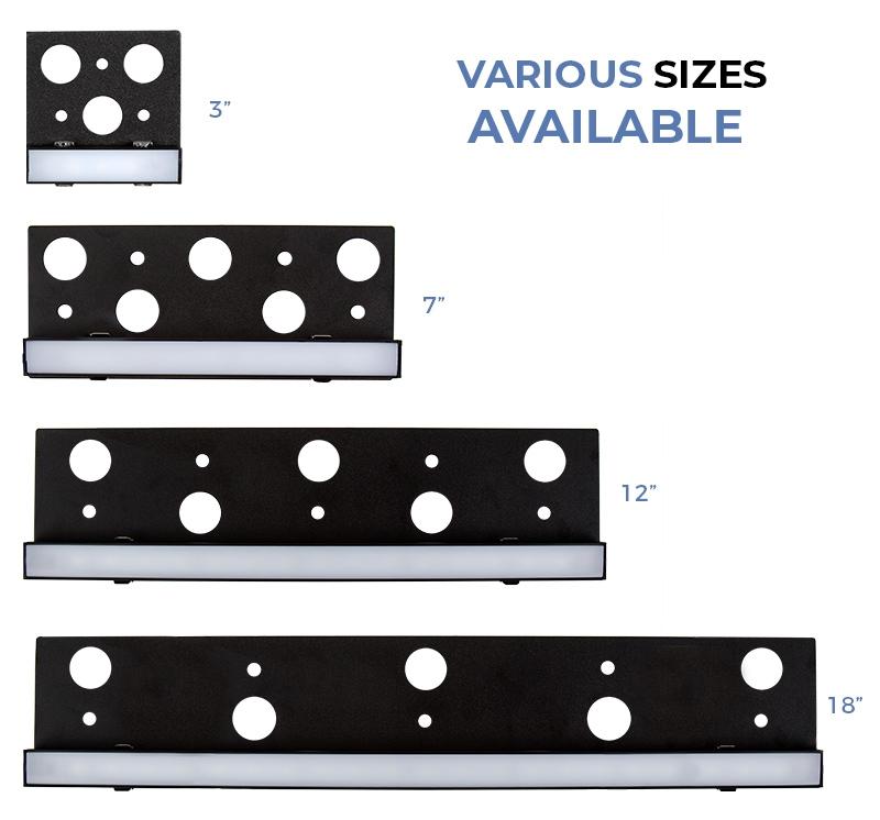 LED hardscape lights - plug and play sizes