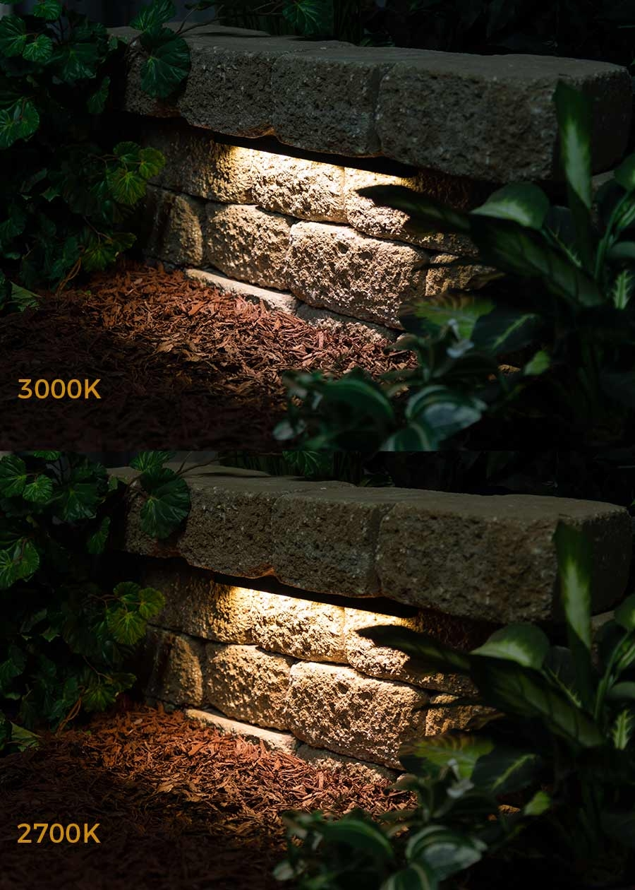 LED hardscape lights - fixed - color options