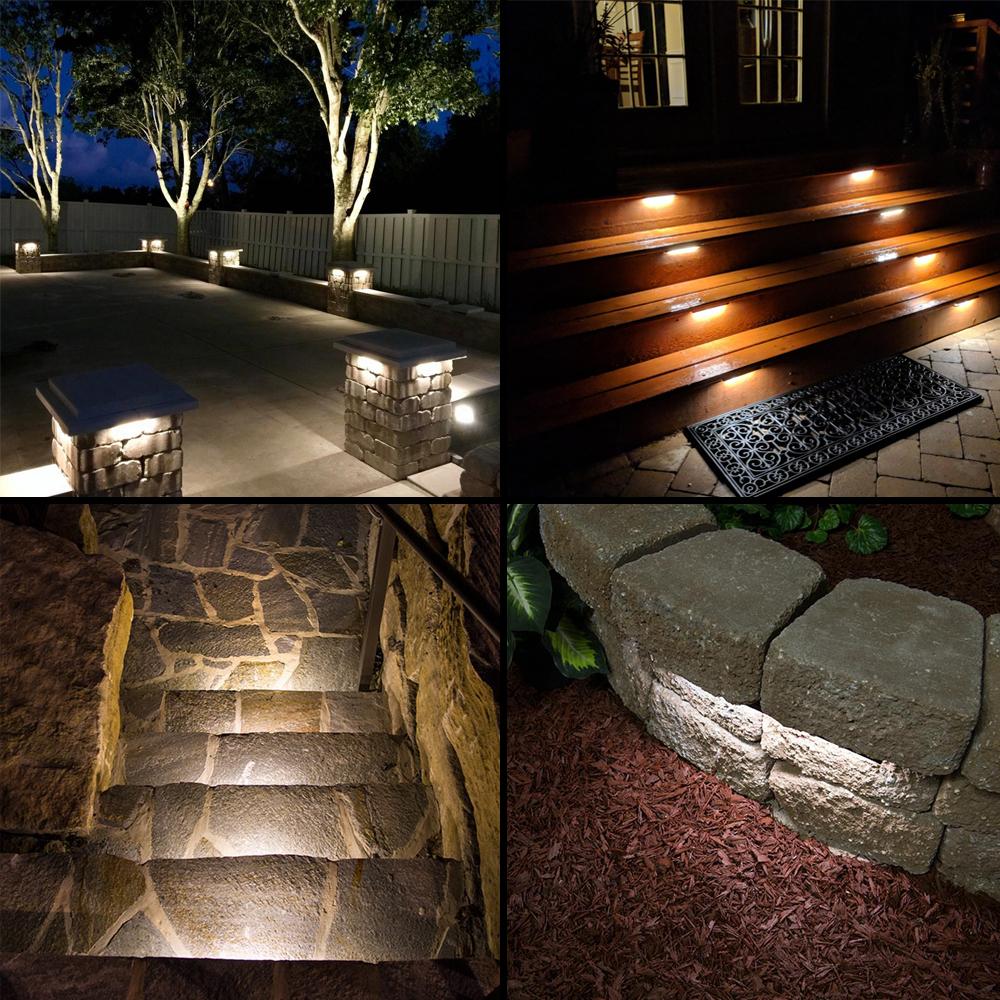 LED hardscape lights - applications