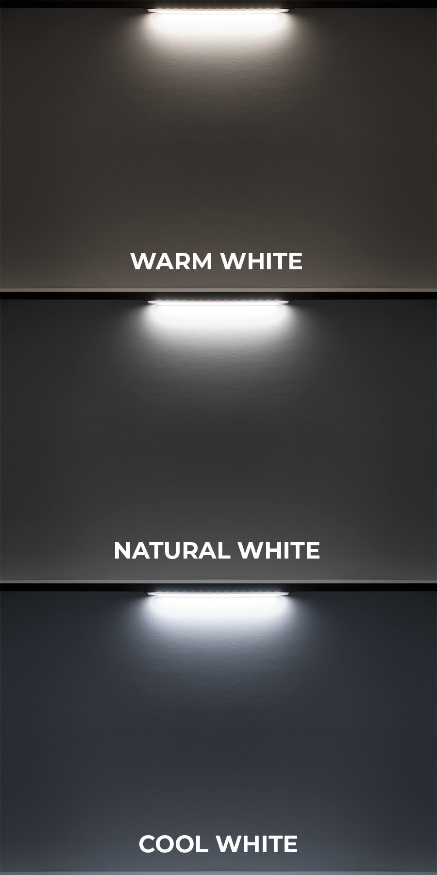 LED hardscape lights - plug and play color options
