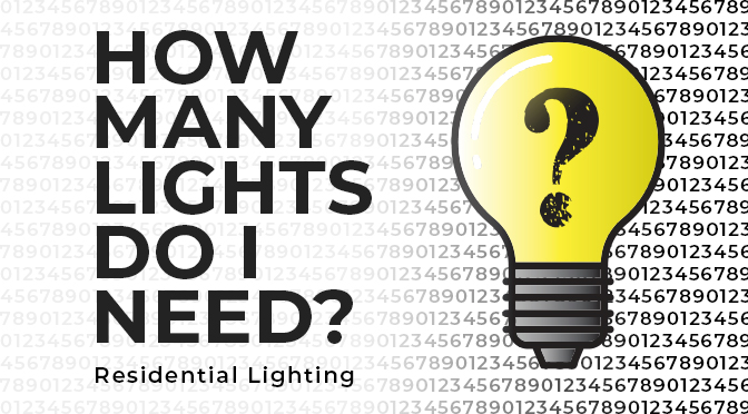 Residential Recommended Lighting Levels - Super Bright LEDs