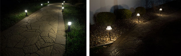 Landscape Lighting Design - path lights