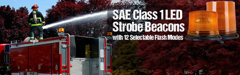 SAE Class 1 Strobe Beacons