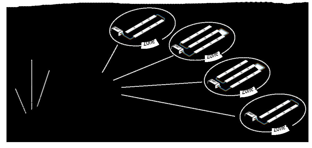 light wiring diagram for multiple zones multiple light ... on