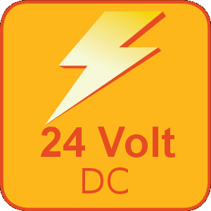 The NFLS-X3-24V has an operating voltage range of 24 VDC