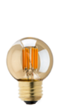 Gold Tint LED Filament Bulb - 25 Watt Equivalent - Dimmable - 235 Lumens - Ultra Warm White - Gold Tint