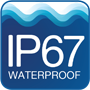 MSTRB is Waterproof IP67 rated