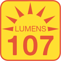 1142-x12-G-RVB outputs up to 107 lumens