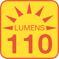 LTA-W10 outputs up to 110 lumens
