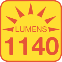 ALB-xW1M-RA outputs up to 1440 lumens