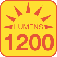 SWFLS-x outputs up to 1200 lumens