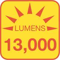 PLLD-x100 outputs up to 13000 lumens