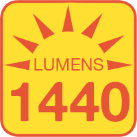 ALB-xW1M-FM outputs up to 1440 lumens
