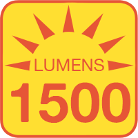 SLKM-x15-60-120V outputs up to 1500 lumens
