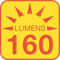 #6391 outputs up to 160 lumens