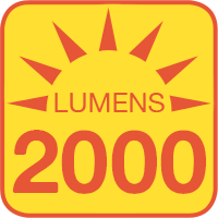 H5006-70x outputs up to 2000 lumens