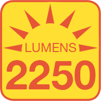 H4651-60x outputs up to 2250 lumens
