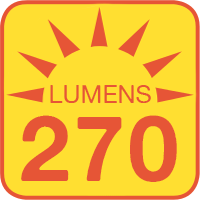 7440-x18-T-CAR outputs up to 270 lumens
