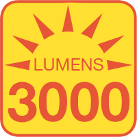 LP-x6030-40-12V outputs up to 3000 lumens