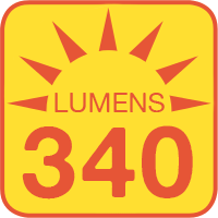 LTA-W30 outputs up to 340 lumens
