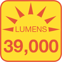 PLLD-x300-KM outputs up to 39000 lumens