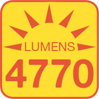 FLKM-x45-80 outputs up to 4770 lumens