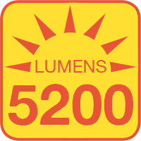 LSFD-xK4-40 outputs up to 5200 lumens