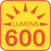 G9-x45-HH outputs up to 600 lumens