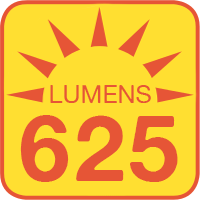 A19-x12 outputs up to 625 lumens