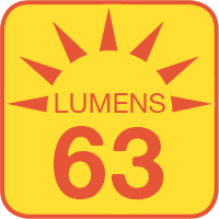 MLAS-W1 outputs up to 63 lumens