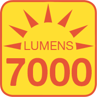 WLTB-x outputs up to 7000 lumens