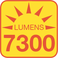 WP2-x60 outputs up to 7300 lumens