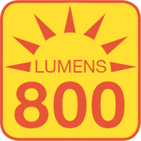 A21-x9-24V outputs up to 800 lumens