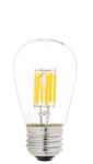 S14 LED Sign Bulb w/ Filament LED - 35 Watt Equivalent - Dimmable - 338 Lumens - Warm White