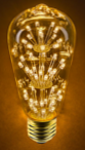 ST18 Decorative Fireworks LED Bulb