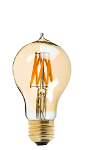 Gold Tint Victorian Style LED Bulb