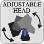 Adjustable Head