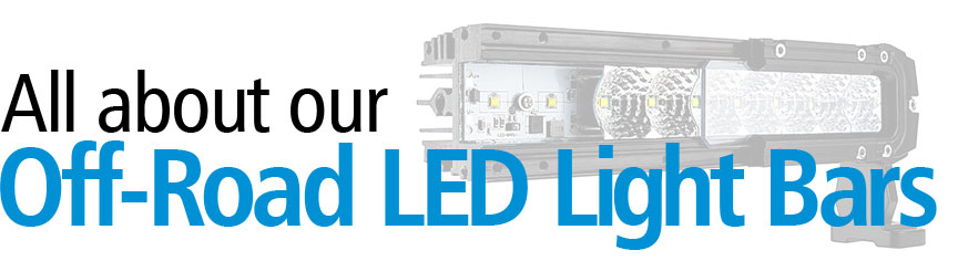 All about LED light bars