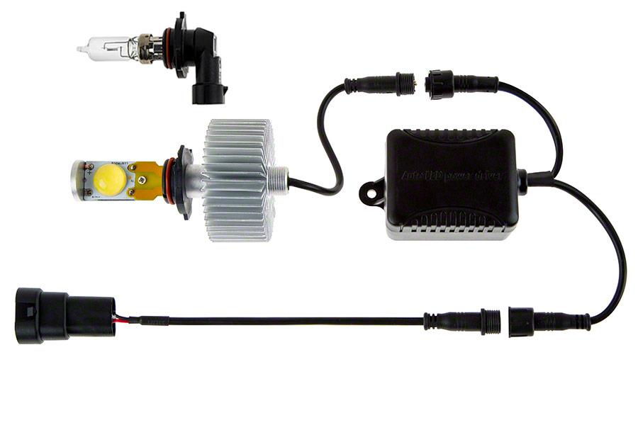 led headlight kit h10 led headlight bulbs conversion kit. Black Bedroom Furniture Sets. Home Design Ideas