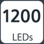 1200 leds